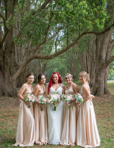 Woodland wedding, boho bouquets, faux flowers, image by Everlast Studios