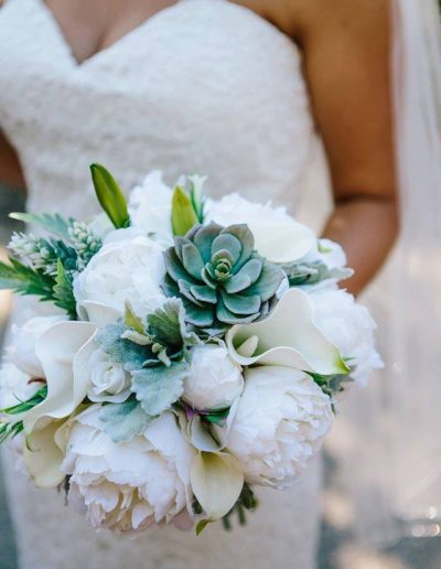 Succulent bouquet – image by Tall Timber Studios
