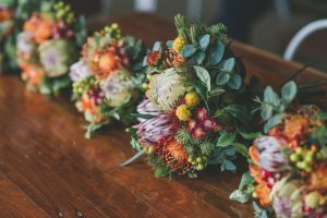 Bright Native Faux Flower Bouquets