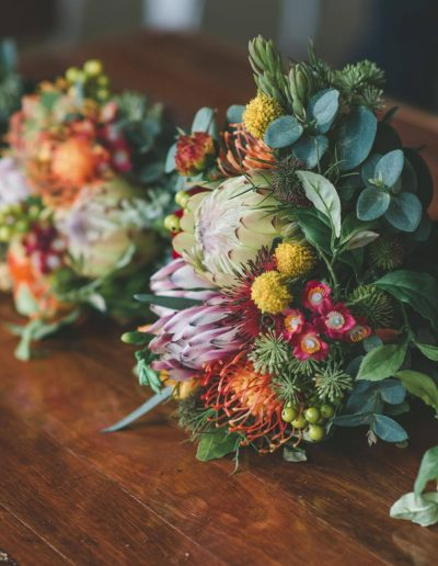 Bright Native Faux Flower Bouquets – image by Lovelenscapes Photography