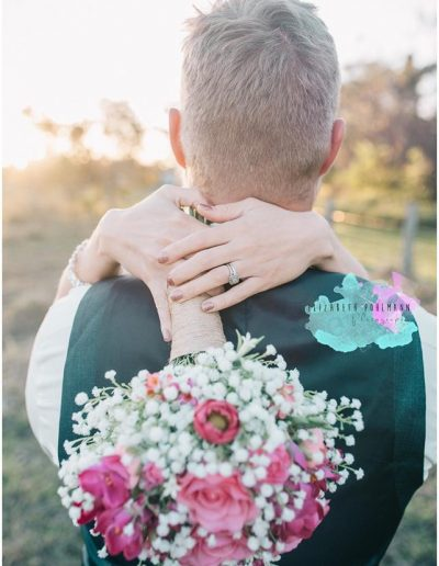 Rustic babies breath and pink bright bouquet faux flowers - image by Elizabeth Pohlmann  Photography #bloominglovelybouquets