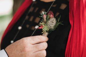 Native Buttonholes, boutonnieres, pin corsage