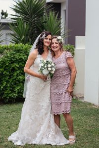 mother of the bride flower crown