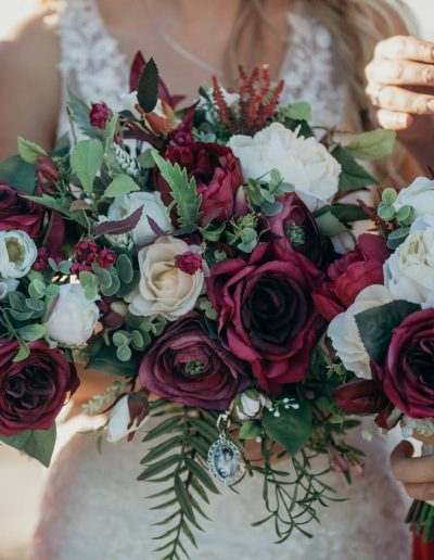 burgundy and peach rustic bouquet, image by Cloud catcher studio  #bloominglovelybouquets #sunshinecoastpopupweddings