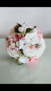Pink and white faux flower bouquets - image by The Bulb Creative #bloominglovelybouquets