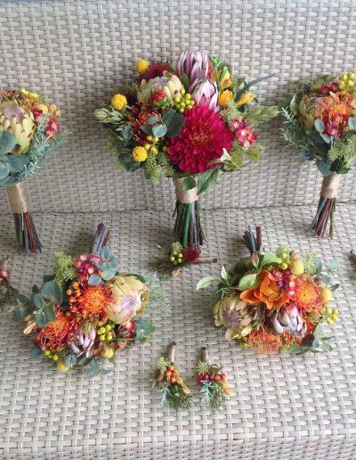 bright native bouquets - faux flowers