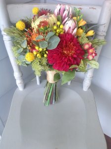 bright native bouquet - faux flowers