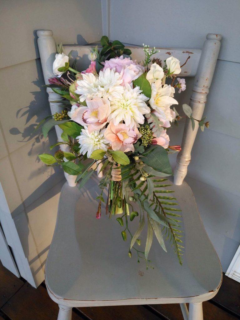 Blush Faux Floral Bouquet