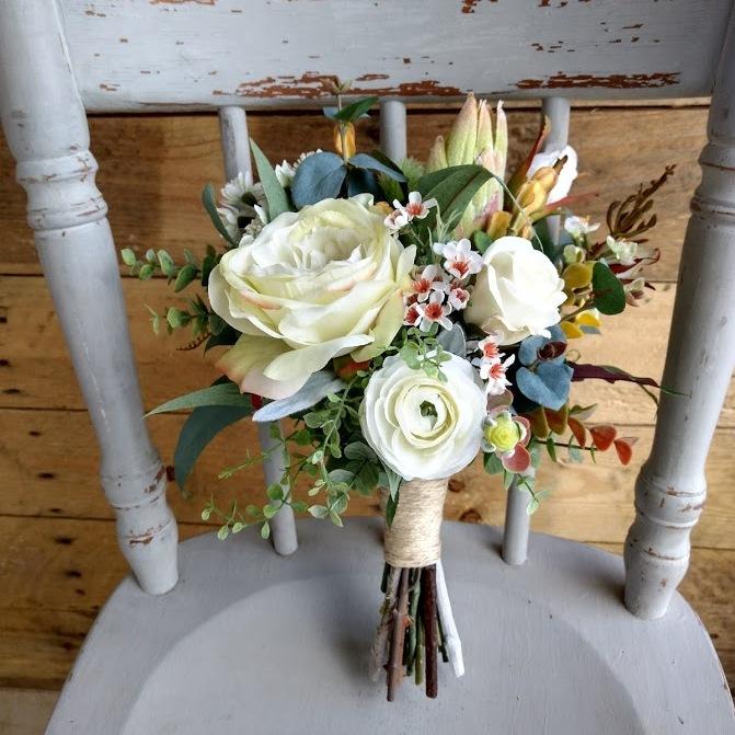 Autumnal Maids Bouquet