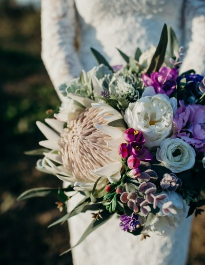 Blooming lovely bouquets faux floral bouquet #sunshineecoastpopupweddings