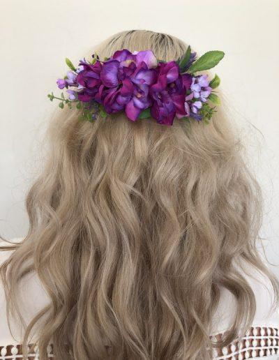 Ultra Violet Floral comb