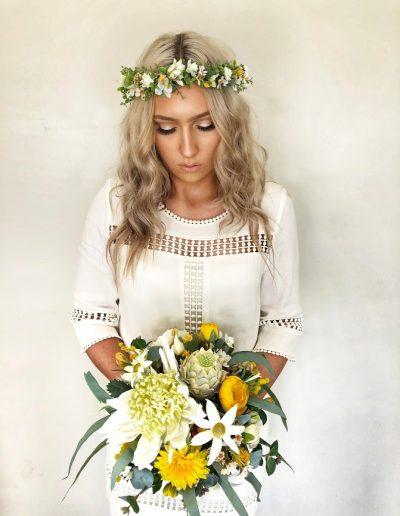 Woodland Crown & Sunshine bouquet