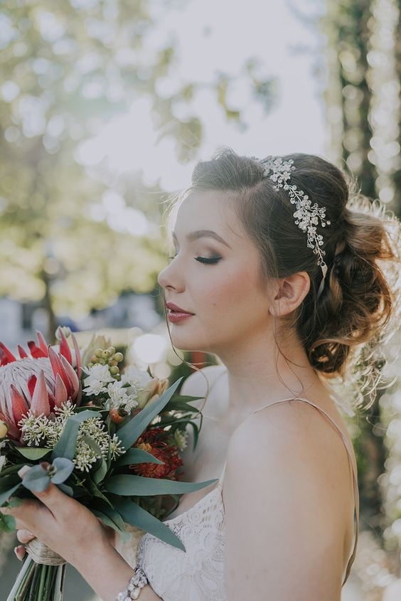 Native Autumnal Faux Bouquet
