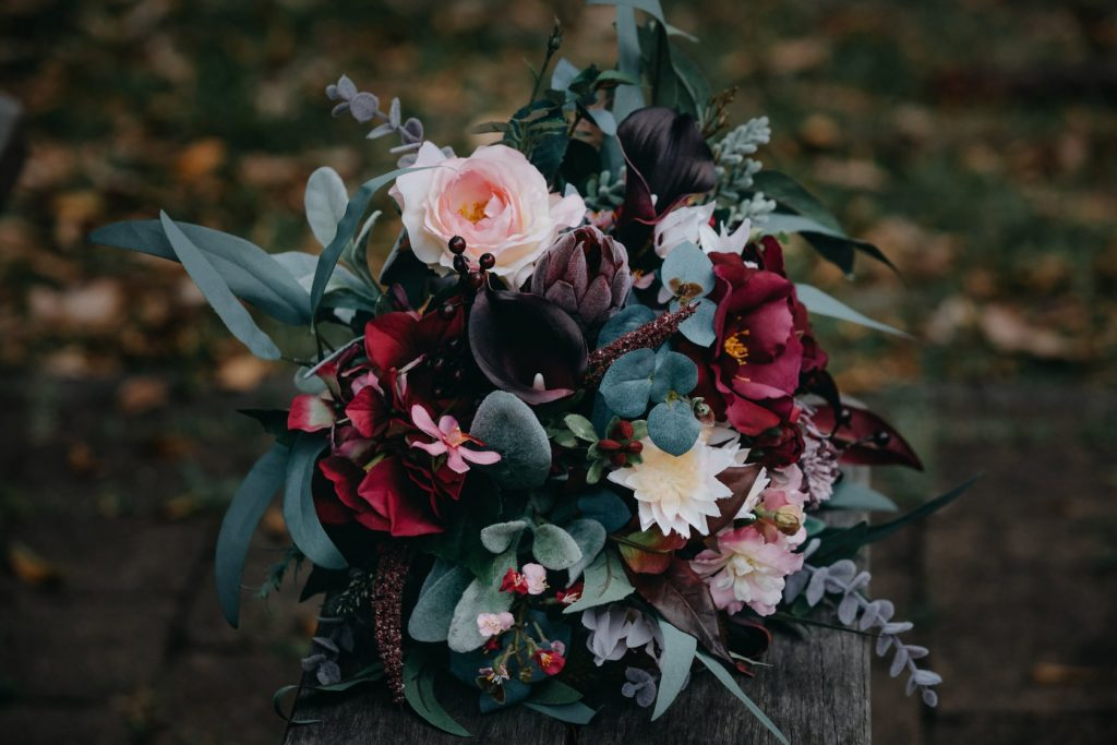 Moody Faux Native bouquet Jo Hammond  photograpy